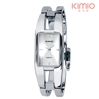 Women Wristwatch Bangle Dial Stainless Steel Women Quartz Watches KIMIO Luxury Ladies Wristwatch Analog Antique Relogio