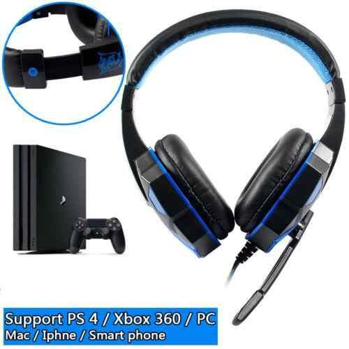 Micro casque de jeu casque filaire casque de jeu casque pour PS4 Xbox One interrupteur iPad PC r60