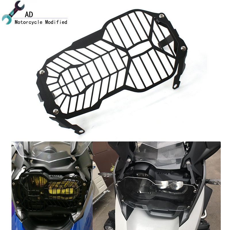 R1200GS Headlight Protector Grille Cover Clear For BMW R 1200GS Guard Water Cooled R 1200 GS 2012 2013 2014 2015 2016 Adventure