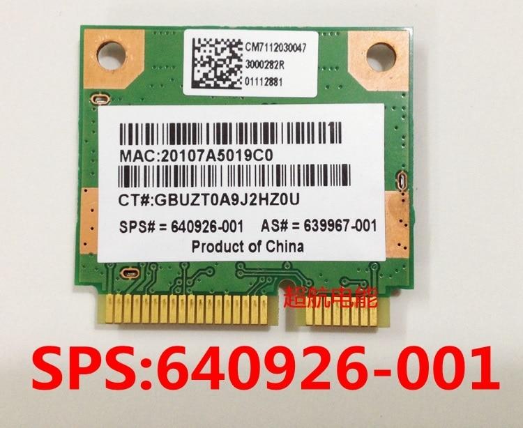 SSEA оптовая продажа SSEA RealTek RTL8188CE мини плата PCI-e Беспроводная WLAN карта 802,11 b/g/n для HP 639967-001 640926-001