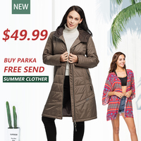 Women S Spring Jacket Female Coat Long Trench Hooded Plus Sizes Lady S Sweater Solid Women