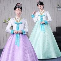 Korean traditional ladies court stage performance Korean clothes Dae Jang Hsu Korean folk dance ancient costumes