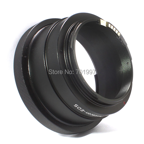 AF Confirm L.ens adapter r.ing suit for Kiev 60 Pentacon 6 lens TO C.anon E.OS camera 7D,5D II,60D,50D,40D,600D,1100D