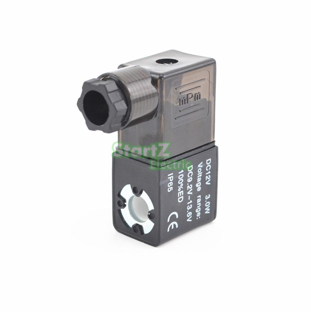 Electrical Pneumatic Control Air Solenoid Valve Coil DC12V DC24V AC110V AC220V 10mm dia pneumatic control air solenoid valve coil ac 220v 6va