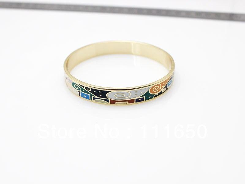 ୧ʕ ʔ୨Envío libre! Nueva moda 1.0 cm ancho joyería colorida del ...