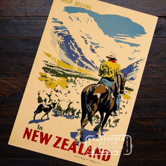 Online Shop JEAN BATTEN LONDON TO AUCKLAND New Zealand NZ Travel ...