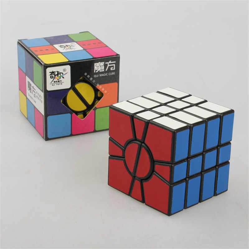 4 層スーパー SQ1 マジックキューブ平方-1 パズルキューブゲームプロのスピード教育おもちゃ子供のための子供