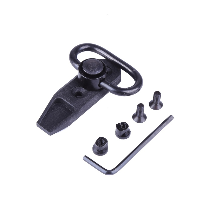 New Arrived 2018 Tactical KeyMod Direct Quick Detach Sling Swivel Adapter Mount Adaptor  ...