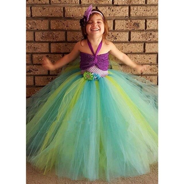 latest ariel trajes para nias vestidos ropa halloween cosplay sirena traje chica vestir k with disfraz de sirenita para nia with disfraz original de