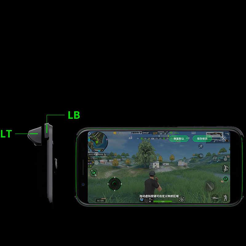 オリジナル Xiaomi ブラックサメ電話ゲームコントローラ Bluetooth 接続コントロールゲームパッド android ゲーム黒サメジョイスティック