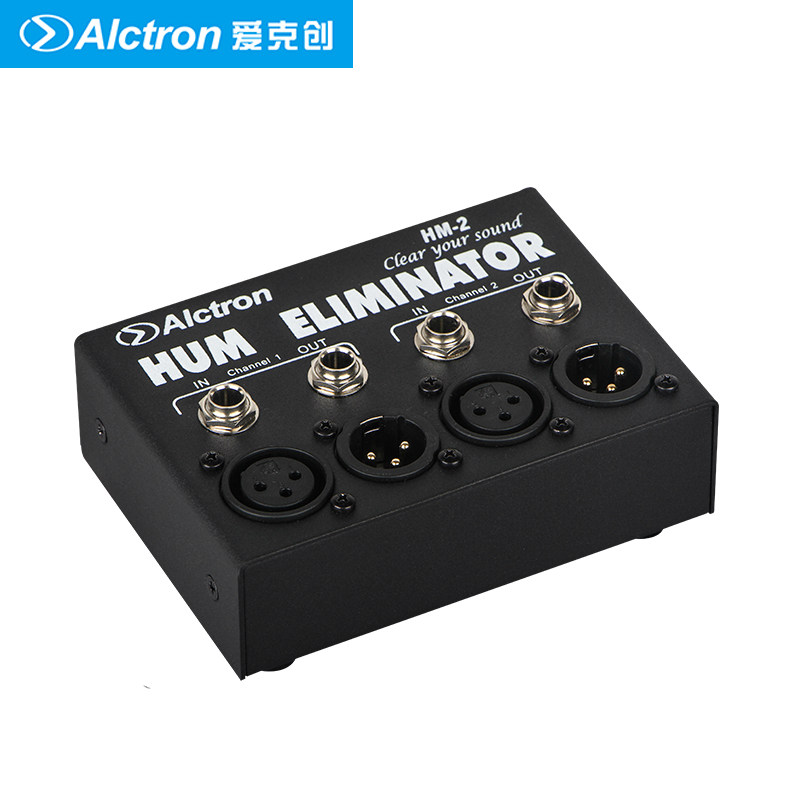 alctron hm 2 hum eliminator plug and play suits for audio connection occasions to reduce the. Black Bedroom Furniture Sets. Home Design Ideas