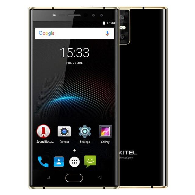 OUKITEL K3 4G Phablet Android 7.0 MTK6750T Octa Core 1.5GHz 4GB RAM 64GB ROM 6000mAh Battery Four Cameras Fingerprint Scanner