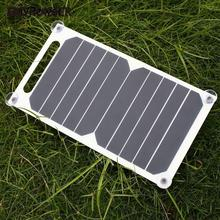 Portable 5V 1000 mAh Solar Charging Panel USB Charger Solar Panel For Smart Phone