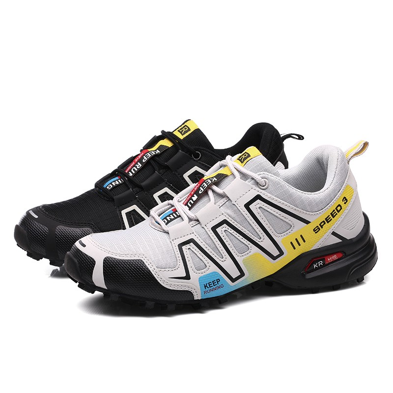 Big Size Men Adult Outdoor Hiking Shoes New Design Fun Luminous Sports Shoes Off-road Camping Climbing Sneakers Youth Trekking