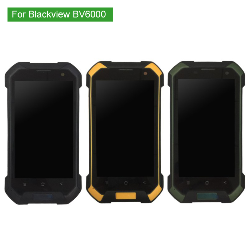 100% Tested For Blackview BV6000 LCD Display+Touch Screen Screen Digitizer Assembly with Frame BV6000S LCD with Tools