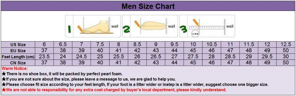OK---Men Size Chart 9-08