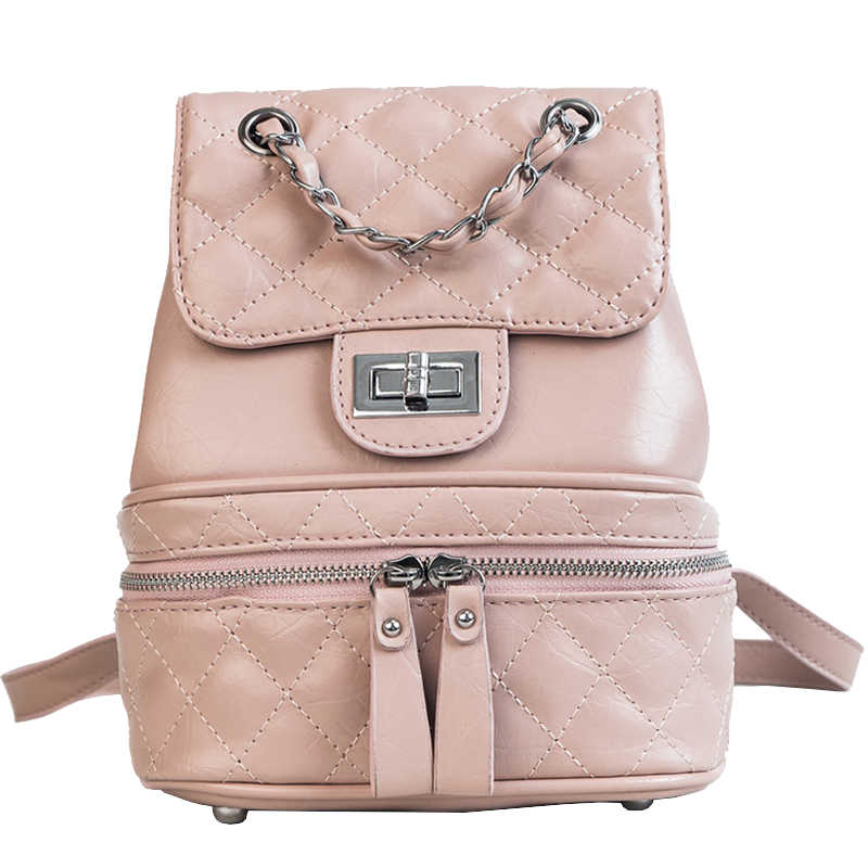 Fashion Women Backpack Bag 2018 PU Leather Women Shoulder Bags Designers  Brand for Teenage Girl High d934cbf6d7f22