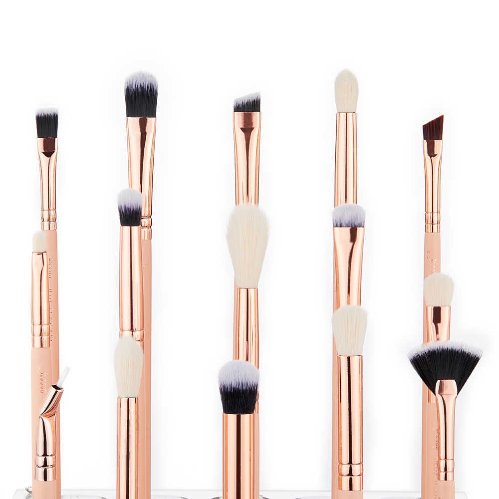 Jessup 15 pièces ensemble De pinceaux De Maquillage kits De Beauté Professionnel Maquillage brosse de maquillage FARD À PAUPIÈRES BROSSE À LÈVRES CONCERLER