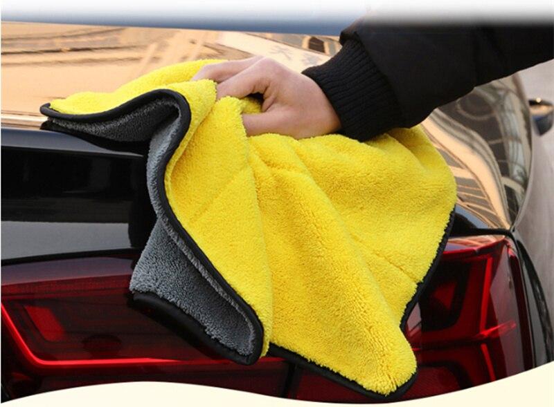 30*30cm Car Soft Microfiber Cleaning Towel for Land Rover LR4 LR3 LR2 Range Rover Evoque Defender Discovery Freelander