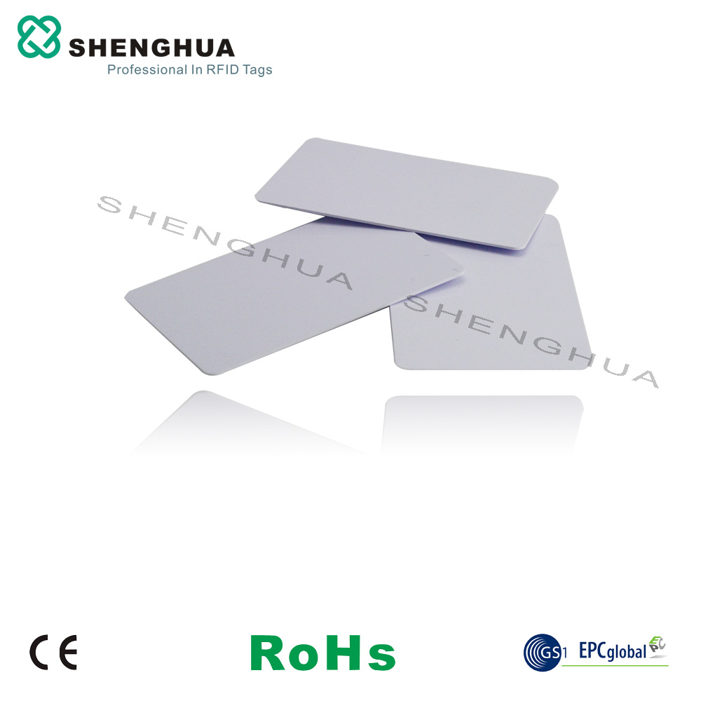 10pcs/lot Bank Card Size Clear Id Blank Uhf Passive Rfid Pvc Blokcing Cards With Rfid Antenna Chip For Custom Printed Discounts Price Access Control
