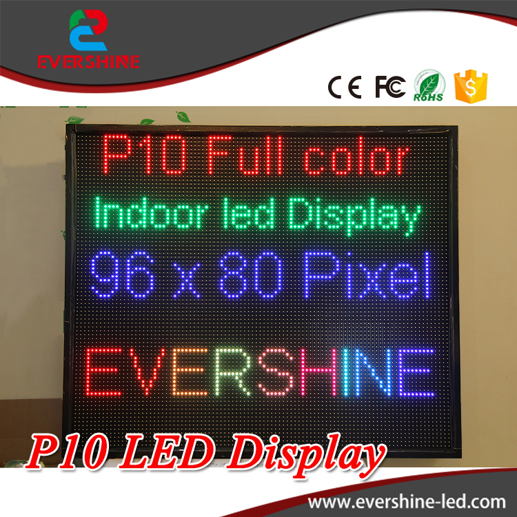 High Definition P10 Indoor Full Color LED Display Moudle 320x160mm LED Video Display Screen size 38''x32'' free shipping p5 indoor smd 3in1 full color led panel display module 1 16scan 320 320mm