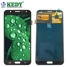 For Samsung Galaxy J7 2015 J700 J700F J700M J700H LCD Display With Light Adjustable With Touch Screen Assembly Adjust Brightness(China)