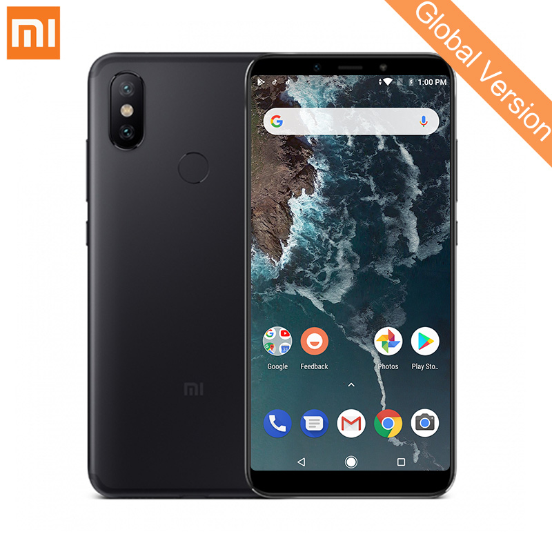 Глобальная версия Xiaomi Mi A2 4 ГБ 64 ГБ Смартфон Snapdragon 660 Octa Core 20.0MP AI двойной Камера 5,99 18:9 полный Экран металлический корпус