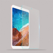 Tempered Glass For Xiaomi Mi Pad Mipad 4 Mipad4 8.0 8.0inch 2018 Screen Protector Tablet Protective clear Films Toughened Guard rinco protective clear pet front back screen guard films set for iphone 4 4s
