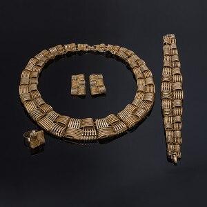 Женский комплект ювелирных изделий BAUS, винтажный комплект ювелирных изделий из арабских и африканских бусин в Дубае для свадьбы и свадьбы