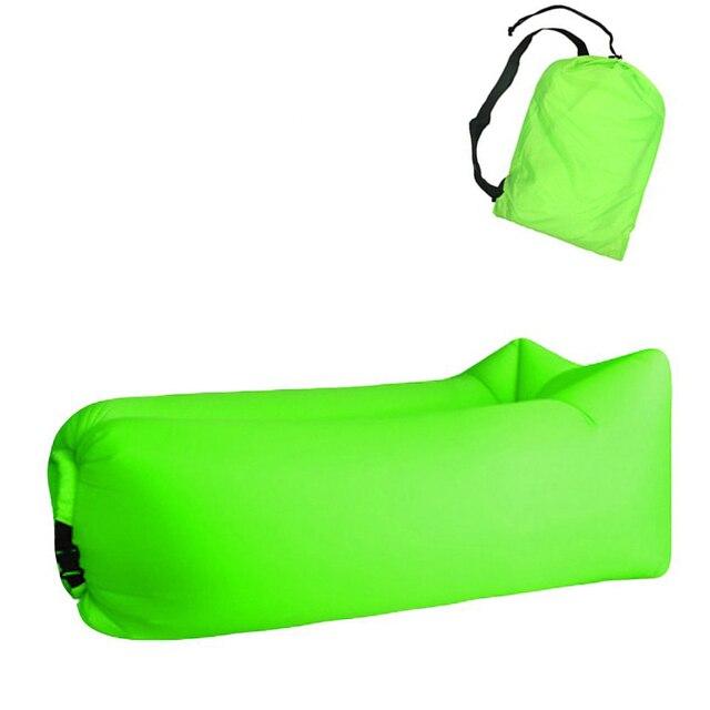 Aotu Light sleeping bag Waterproof Inflatable bag lazy sofa camping Sleeping bags air bed Adult Beach Lounge Chair Fast Folding 3