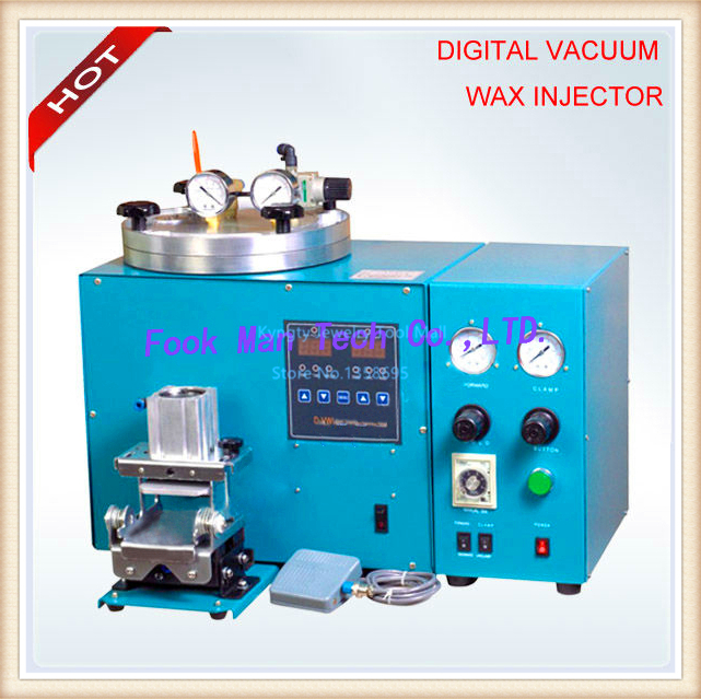 Jewelry Making Supplies 220V 650W Vacuum Wax Injector with Controller and Auto Clamp Wax Injection Machine