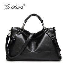 Teridiva Pu-leder Handtaschen Gürtel Umhängetaschen Damen Frauen Messenger Bag Weibliche Beutel Beiläufige Handtasche