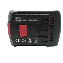 Cncool Rechargeable Battery 18v 4.0Ah Replacement Li-ion Battery 17618 For Bosch BAT609 BAT618 Tools Battery Wholesale цена в Москве и Питере