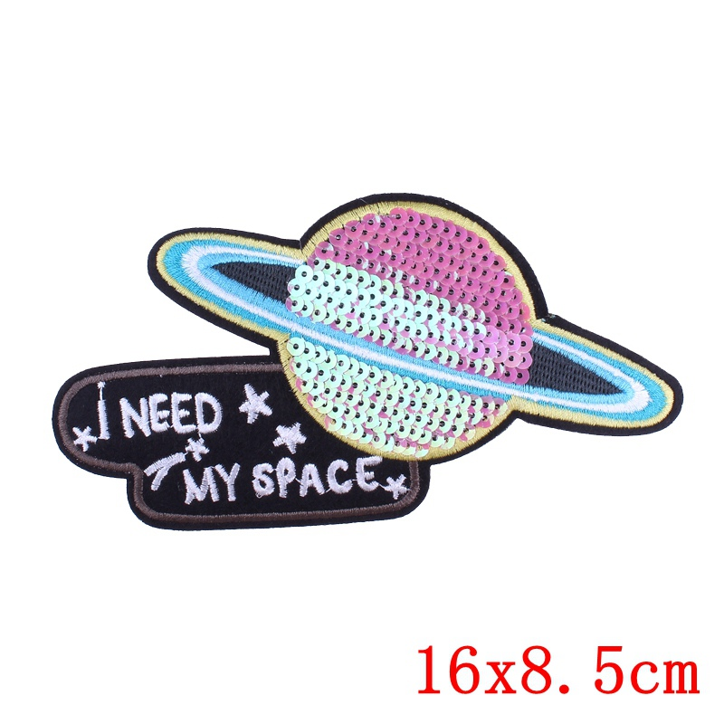 Prajna Cartoon Unicorn Patch Iron On Patches For Clothing Embroidered Patches On Clothes Stripes Skull Patch For Clothes Badges