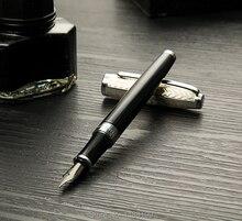 Купить онлайн Металл, латунь extra fine 0.5 мм перьевая ручка винт ручка Bussiness офиса 6884