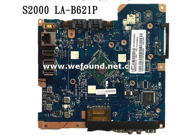купить 100% working desktop motherboard for S2000 S20-00J2900 ZAA30 LA-B621P 5B20G56357 mainboard fully tested по цене 5609.1 рублей