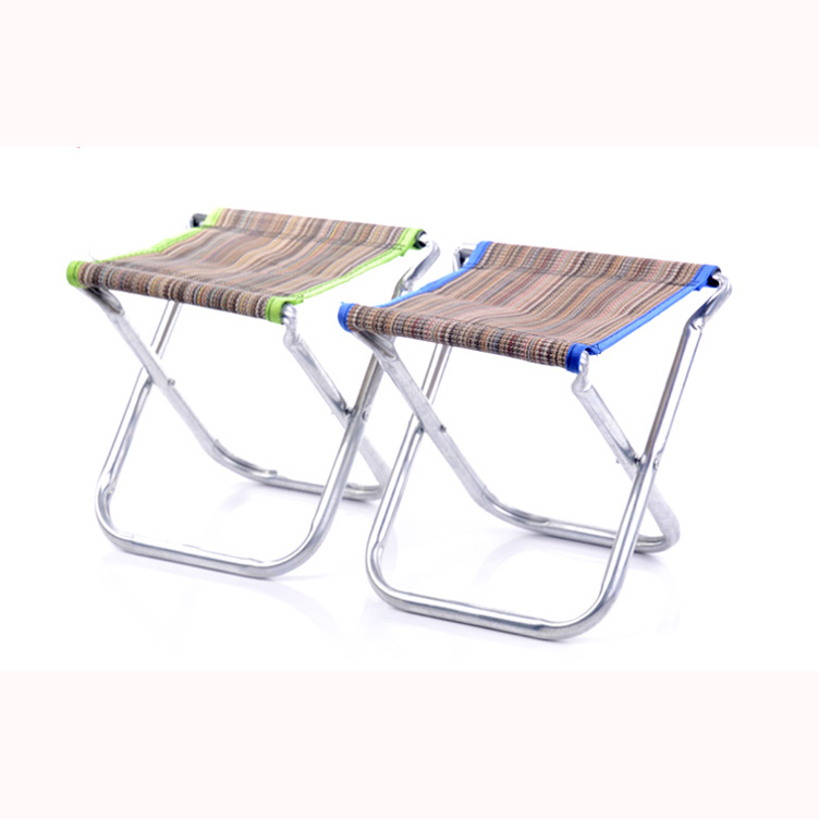 Portable Aluminum Folding Chair Stool Seat Outdoor Fishing