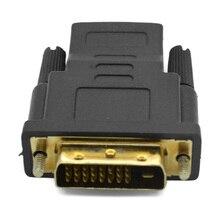 10 pcs/lot DVI Male to HDMI Female M-F Adapter Converter convertor For HDTV
