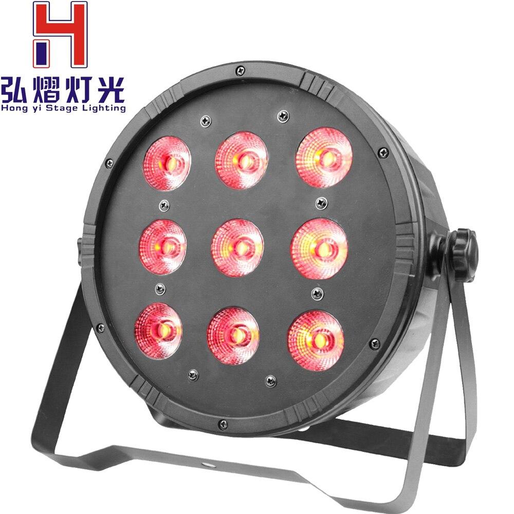 (1 pieces/lot) led par light 9*12w DMX wash Disco DJ Lighting Club Party light Strob dj equipment disco dj lights цены