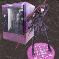 27cm Game Fate/Stay Night Action Figures Grand Order Lancer Scathach Figure Toy Fate Aquamarine Lancer Toys Dolls Model Gift
