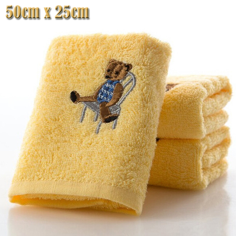 100% cotton Authentic sweet candy colored Absorbent Dry Towel baby towel super soft coral fleece kid child towel wipe sweat