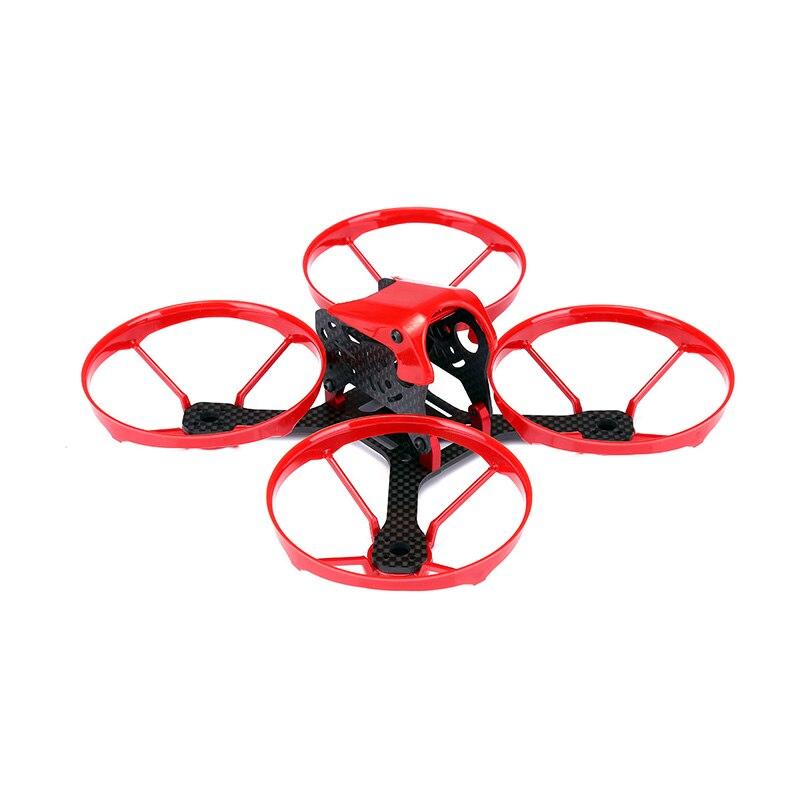 TransTEC Kobe 140mm cadre Kit 3 pouces Mini Drone cadre avec support de protection compatible avec 1306 1407 moteurs pour bricolage RC FPV Racing