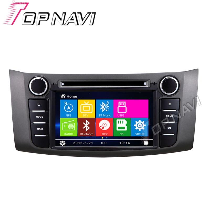 WANUSUAL 7 Car DVD GPS For NISSAN Sylphy 2012 Car font b Radio b font Multimedia