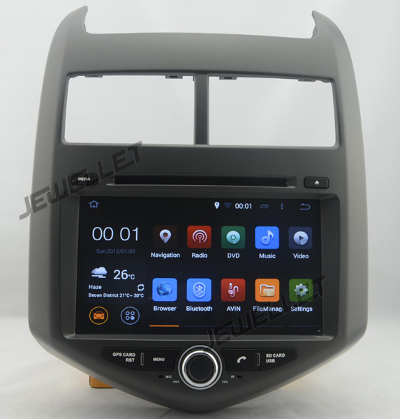 quad core Android 9.0 Car DVD GPS radio Navigation for Chevrolet Aveo Sonic 2012 2016 with 4G/Wifi, DVR OBD 1080P