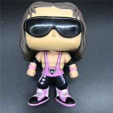 wrestlers Bret Hart Action Figure model Vinyl Action Figures Collectible Model Toy gift [funny] original box 28cm game over watch azrael black death reaper ripper action figure collectible model doll toy kids gift