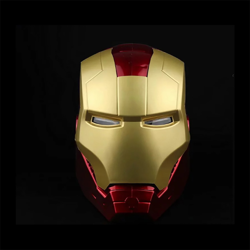 Iron Man Helmet Action-Figure Cosplay-Light Marvel Avengers Super-Hero Led-Model-Toys title=