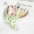 Ultra Macio 100% Bambu Puro One-Camada de Musselina Swaddle Cobertor Do Bebê, 47x47 polegadas para o Bebê Unisex