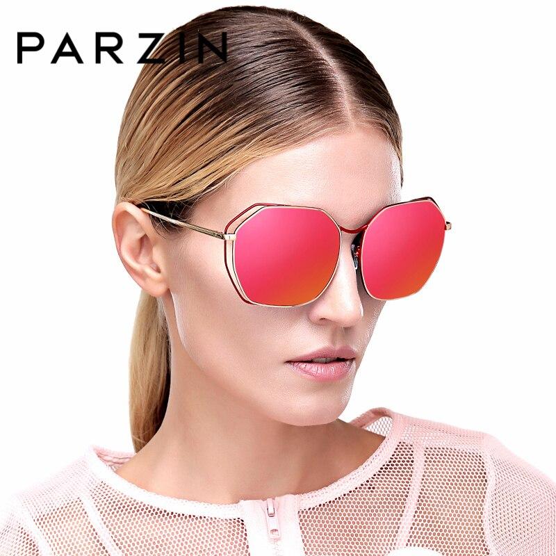PARZIN Brand Polarized Sunglasses Classics Fashion Shield Anti UV400 Quality Women Colors Eyewear New Driving Glasses