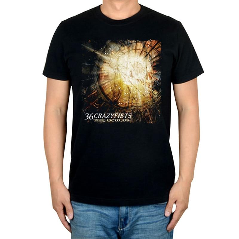 10 видов стилей Harajuku милые 36 crazyfists панк-рок белый черный рубашка ММА фитнес хлопок тяжелый металл Футболка с принтом Тис мяч - Цвет: 4