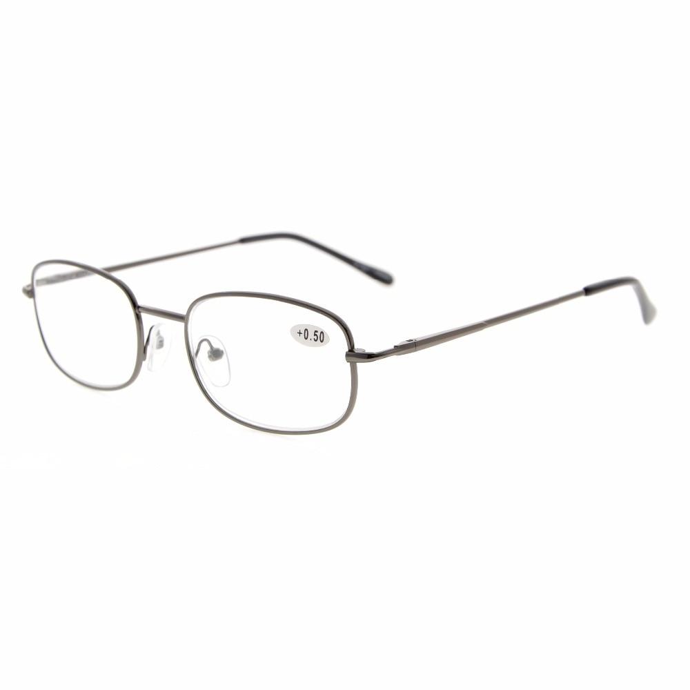 77eb67b02 Eyekepper r3232 إطار معدني الربيع متمحور الأسلحة نظارات القراءة + 0.50 ---  4.00